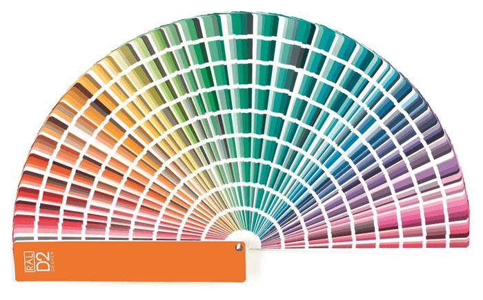 Pantone-kleurenkaart