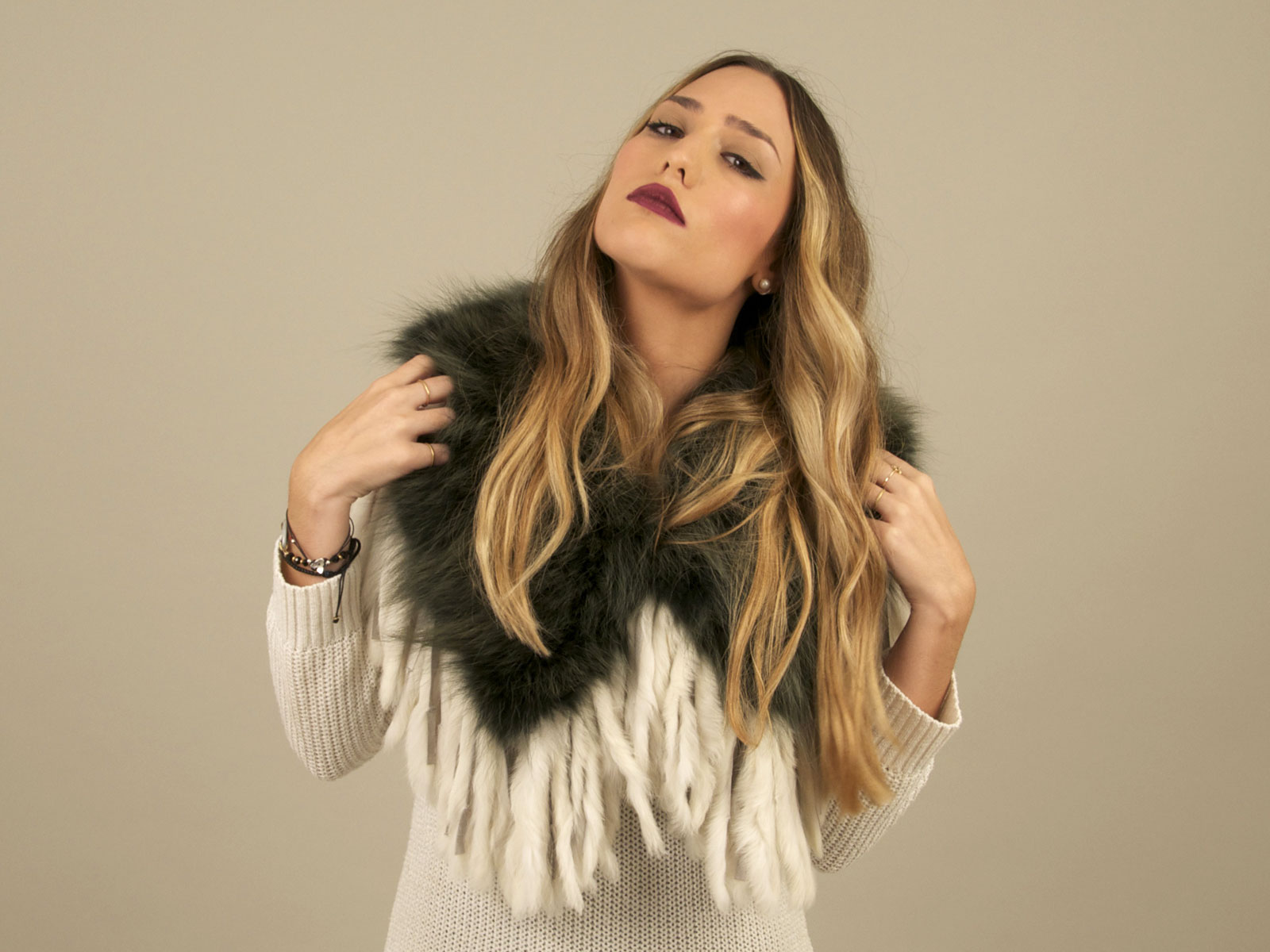 fox fur collar OEM ODM