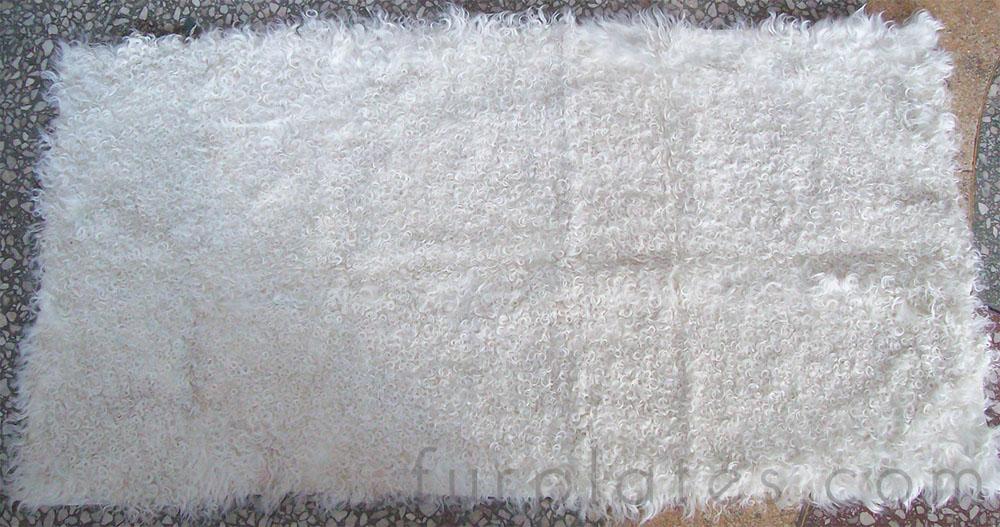 white curly lamb kalgan lamb plate
